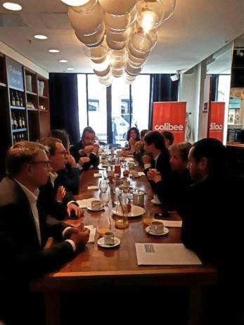 Petit déjeuner d'accueil avec les nouveaux membres du réseau Colibee